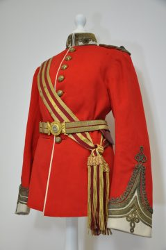 Lieutenant Colonel Harvey's Dress Tunic